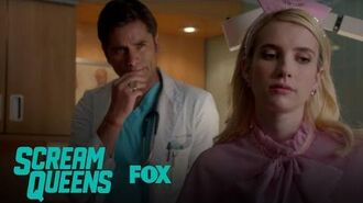Dr. Brock Holt Turns Chanel On Season 2 Ep. 4 SCREAM QUEENS
