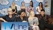 Scream Queens Interview - TVLine Studio Presented by ZTE at Comic-Con 2016