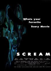 Scream poster by tylerdq16-d36hxeq