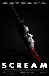 Ghostface Knife Poster