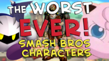 WorstEverSuperSmashBrosCharacter
