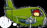 Bomber Plane Using