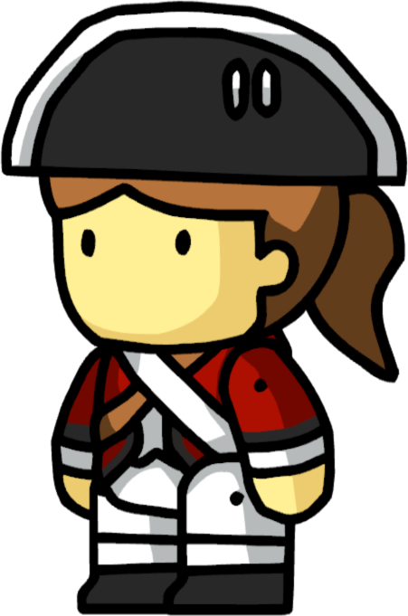 Image - Redcoat Female.png | Scribblenauts Wiki | FANDOM powered ...