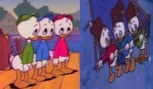 Huey, Dewey, and Louie Duck