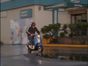 5x7 JD on scooter