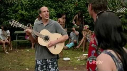 Cougar Town - Ted sings Love Shack