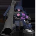 Unit bs zaku ii high mobility type black tri stars custom