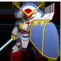 Unit as gundam rose super mode