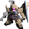 Unit cu gunner zaku warrior