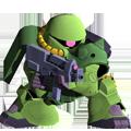 Unit cr zaku ii fz bazooka