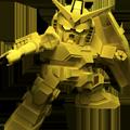 Unit b golden gundam