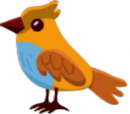 Blue-Breasted Lark