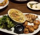 Jack Daniels chicken and shrimp