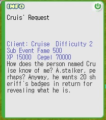 Cruis' Request