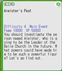 Aleister's Past