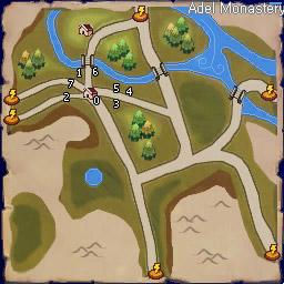 Elim & Bale Legend Book Map