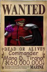 Mano wanted