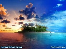 Midnight waters island 2