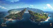 Sea of thieves big island