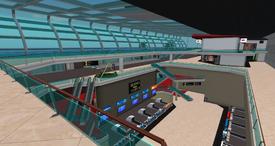 Miami Int. Airport - concourse