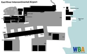 East River Int Airport (WBA Map)