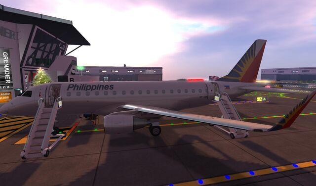 File:Philippine Airlines at GATE of home base SLGR Grenadier 06 001.jpg