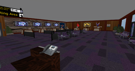 Wolf Spirit Regional Airport Counters, looking SW (11-14)