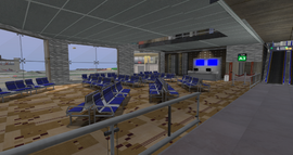 East River Int Airport, Gate A3 (08-14)