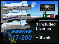 Boeing 717-200 (Coltercraft) default liveries