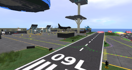 Grenadier Marina & Airport, looking NE (01-14)