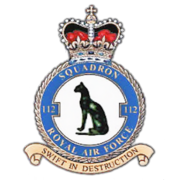 112 Squadron RAF Insignia alpha