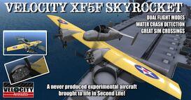 XF5F Skyrocket Velocity