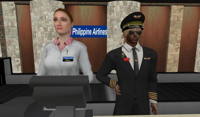 File:Captain Pill Collines and Check-in Crew miss Maya Lim 001.jpg