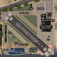 Waypoint Airport (Layout Diagram)