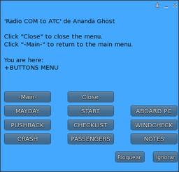 + Buttons menu