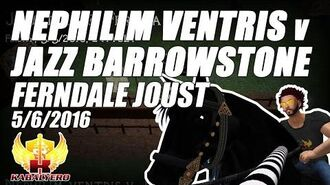 Jousting In Ferndale (5 6 2016) ★ Nephilim Ventris v Jazz Barrowstone ★ Second Life Jousting