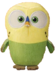 Mc sweetpea plush
