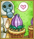 Toxic tulip card