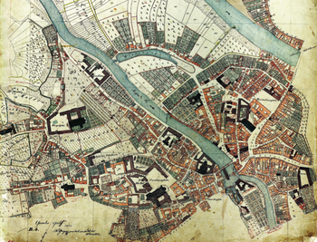 Katasterplan von 1821