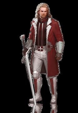 Templar paladin male
