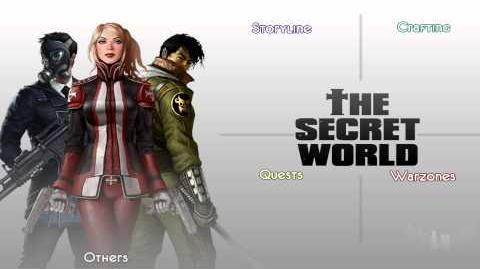 The Secret World menu