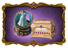 City Holiday Chest and Opera Diva Casket