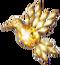 Gold Hummingbird Talisman