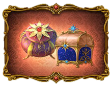 Star Shine Chest and Witch's Flower Casket