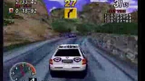 Sega Rally, Sega Saturn (Gameplay)