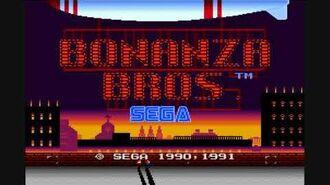 Bonanza Bros. - Bonanza Go-Go Mega Drive Music