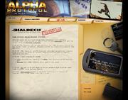 Alpha Protocol website