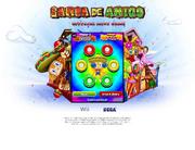 Samba de Amigo Wii minigame
