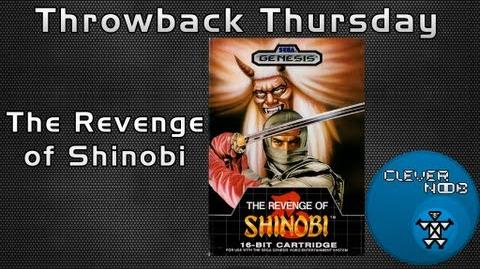 The Revenge of Shinobi Throwback Thursday