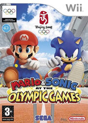 Mario & Sonic Olympic cover